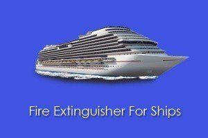 Alat Pemadam Api untuk Kapal