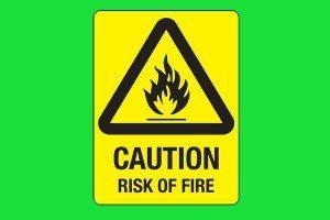 resiko kebakaran