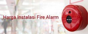 harga instalasi fire alarm