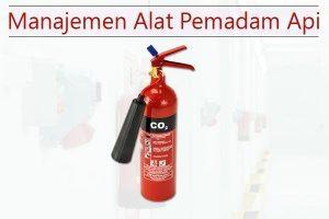 manajemen alat pemadam api