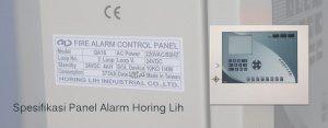 Spesifikasi Panel Alarm Horing Lih