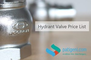 hydrant valve price list