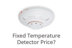 Harga Fixed Temperature Heat Detector