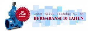 Gate Valve Standar UL FM