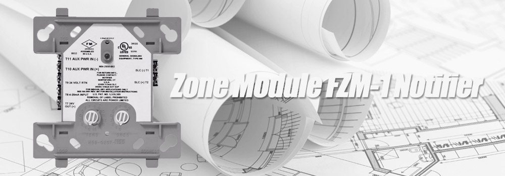 Jual Zone Module FZM-1 Notifier