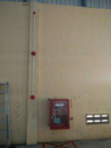 Instalasi Fire Alarm Gudang Kapas Delta Dunia Tekstil II