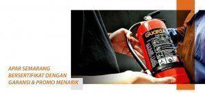 APAR Semarang Bersertifikat dengan Garansi dan Promo Menarik