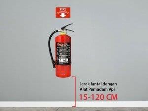 Alat Pemadam Api Jenis ABC Perawatan dan Penempatannya