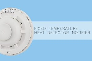 Jual Fixed Temperature Heat Detector Addressable FST-851 Notifier