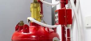 Instalasi CO2 Fire Suppression System Sesuai SOP