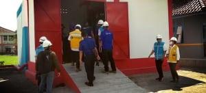 instalasi fire hydrant untuk PLN Majalaya
