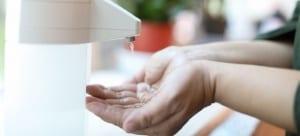 Jual Dispenser Hand Sanitizer Otomatis Efektif Tanpa Sentuhan