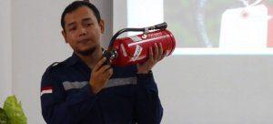 Training APAR BPOM Semarang Sesi Teori