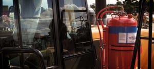kontraktor alat pemadam kebakaran otomatis untuk excavator
