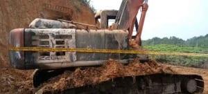 alat pemadam kebakaran otomatis untuk excavator pertambangan