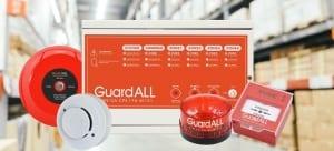 rekomendasi distributor fire alarm guardall semarang