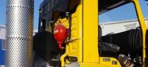 alat pemadam kebakaran otomatis untuk bego