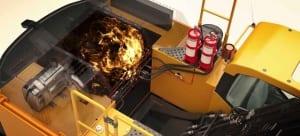 rekomendasi alat kebakaran otomatis untuk alat berat