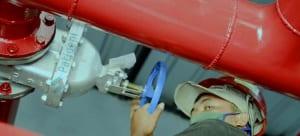 instalasi fire hydrant untuk PT AR Packaging