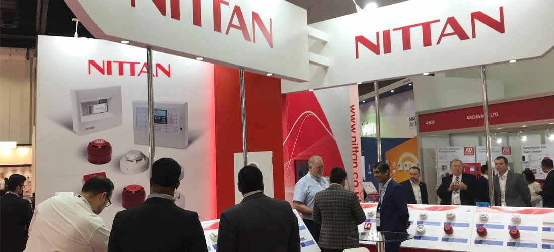 distributor jual panel fire alarm nittan