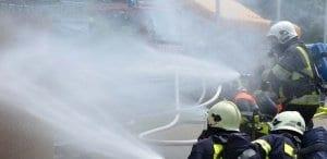 Kebakaran Gedung Kemenkumham - Fire Fighting System