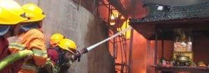 Kebakaran Vihara Samudra Bhakti Bandung - Kebakaran Jalan Kelenteng