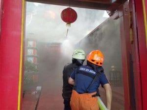 Kebakaran Vihara Samudra Bhakti Bandung- Vihara di Bandung Terbakar