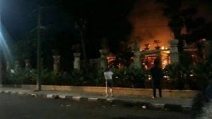 Rumah Ketua DPR - Kebakaran Rumah Ketua DPR Bambang Soesatyo