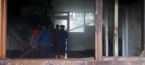 kronologi kebakaran universitas sumatera utara